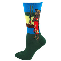 Women's Gaugin Crew Socks