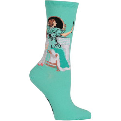 Women's Norman Rockwell Going Out Socks