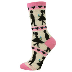 Women's Young Love Crew Socks