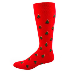 Men's Abstract Christmas Tree Pattern Socks
