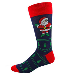 Men's Hi Santa Christmas Socks