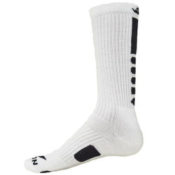Legend 2.0 Crew Sports Socks - White & Black