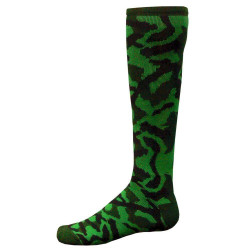 Camo Knee High Sports Socks - Dark Green
