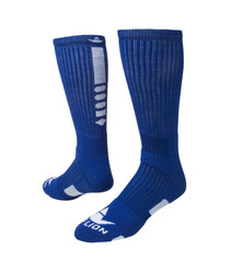 Legend 2.0 Crew Sports Socks - Royal Blue & White