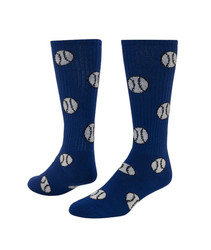 Baseball/Softball Knee High Sports Socks - Royal Blue