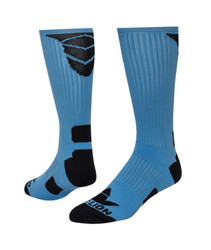 Triumph Crew Sports Socks - Light Blue & Black