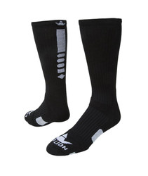 Legend 2.0 Crew Sports Socks - Black & White