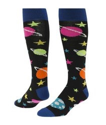Galaxy Knee High Sports Socks