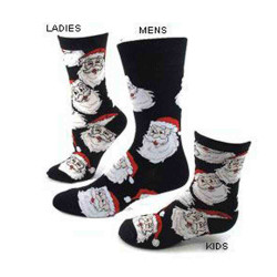 Men's Jolly Santa Christmas Socks
