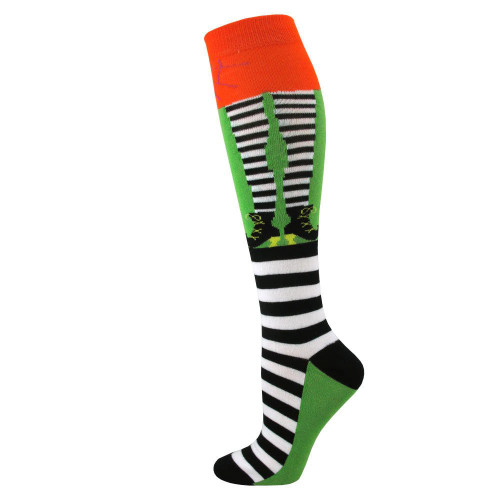 Women's Scary Witch Knee High Socks