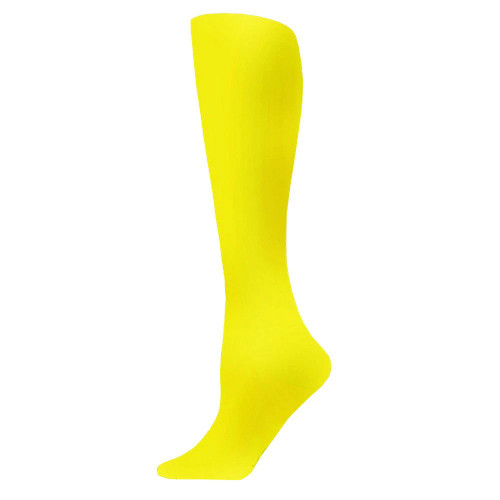 Tights - Yellow Opaque / Women's