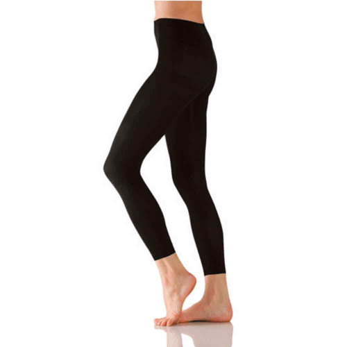 Classic Footless Tights / Black