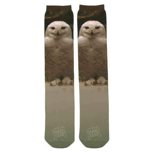 Snow Owl Sublimation Tube Socks