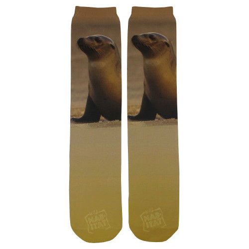 Sea Lion Sublimation Tube Socks