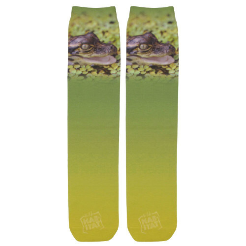 Alligator Hatchling Sublimation Tube Socks