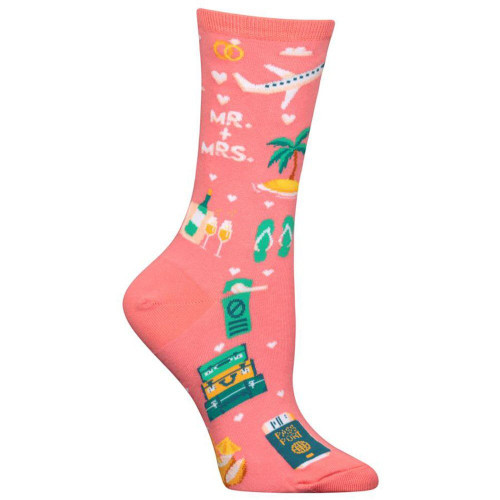 Women's Honeymoon Crew Socks
