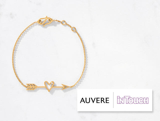 Auvere's shooting arrow bracelet featured in touch