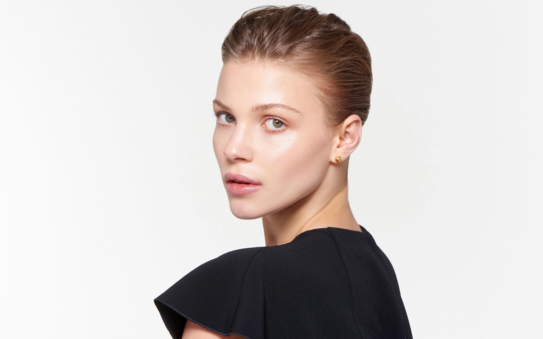 Golden Moon Earring Medium Polished