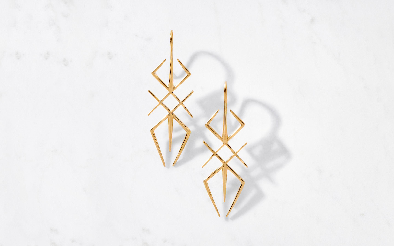 22 karat gold earring for women