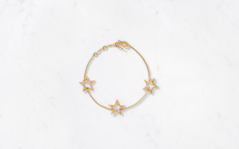 3 Star Bracelet