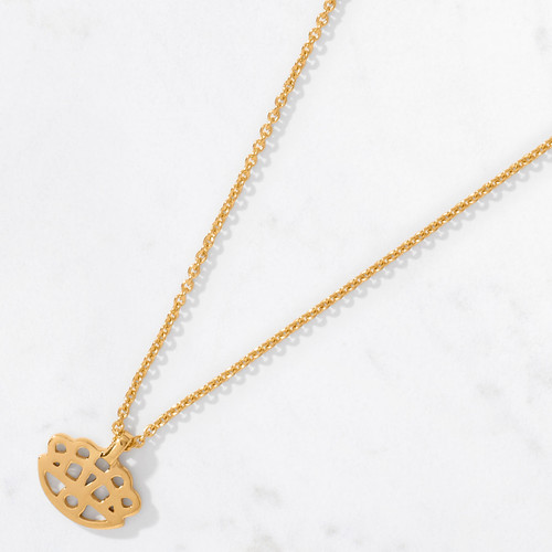 Show off your eye-opening style in our Mini Floral Eye Pendant and Chain. Handcrafted from 22 karat gold, this iconic symbol from our Talisman Collection contains approximately 6.4 grams of pure gold.