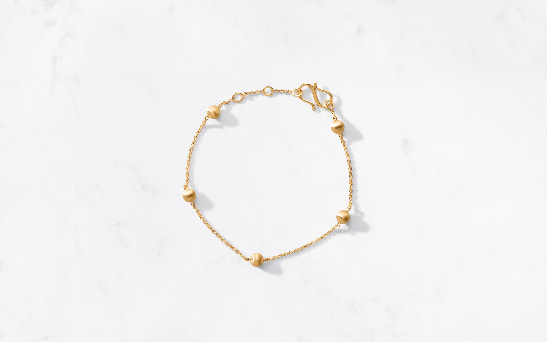 22 karat gold bracelet for women