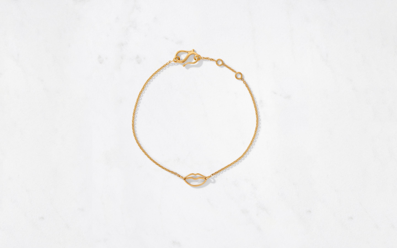 Mini Lips Bracelet