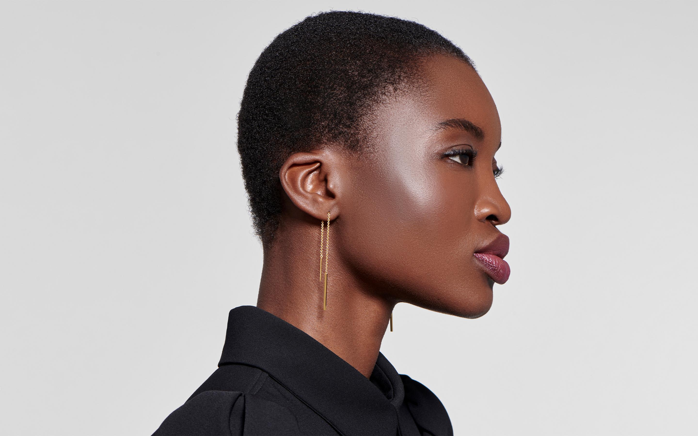 Linear Threader Earring