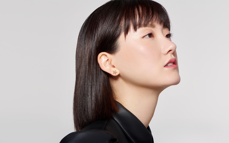 Super Star Diamond Stud Earring