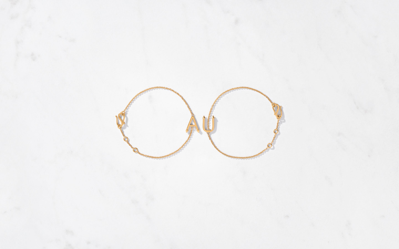 22 karat gold bracelet for man and women.