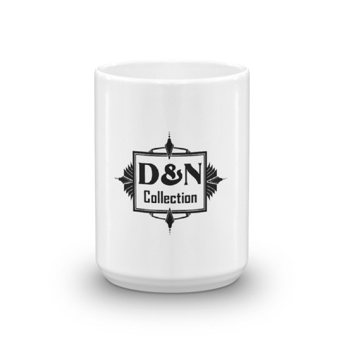 Bohemian Style Vintage Coffee mug with D & N Collection Logo