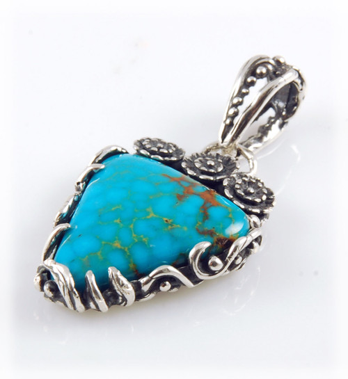Turquoise Mountain Turquoise pendant