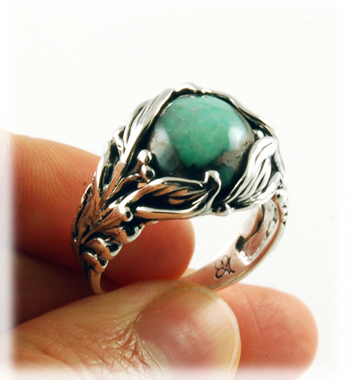 Damele Variscite Lost Wax Ring