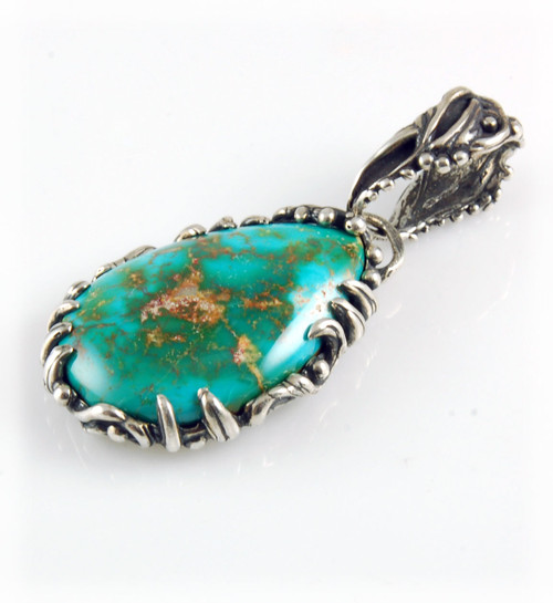 High grade Royston Turquoise Pendant