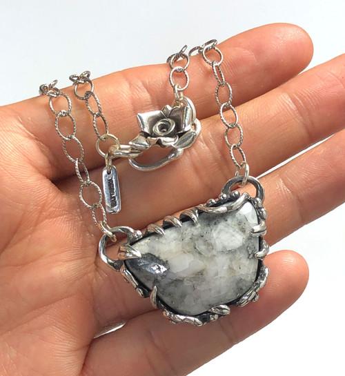 Colorado Silver Ore Necklace