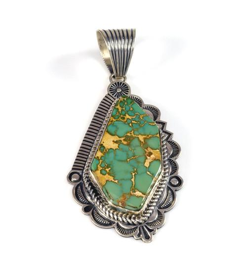 King's Manassa Turquoise Pendant