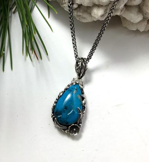 Ithaca Peak Turquoise Pendant Necklace
