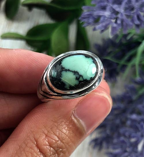 Tortoise Variscite Ring