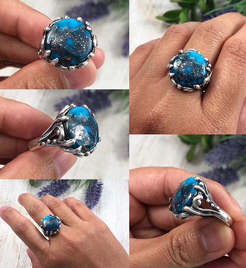 Ithaca Peak Turquoise Ring for Women