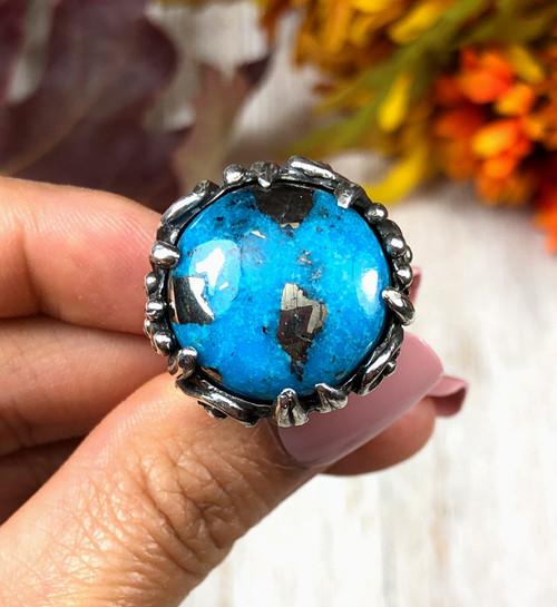 Ithaca Peak Turquoise ring