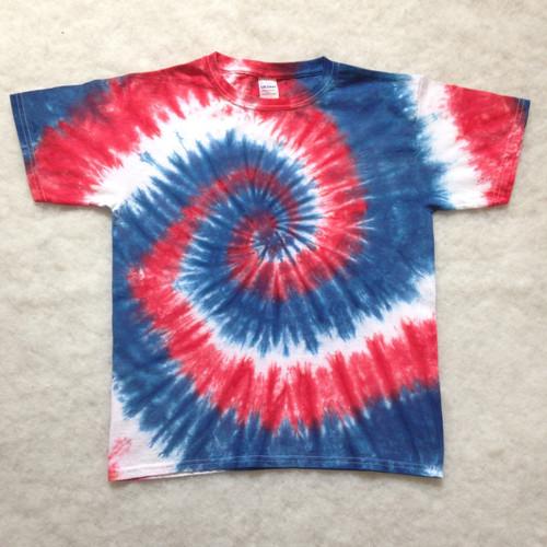American Pride Tie Dye (short and long sleeve options)