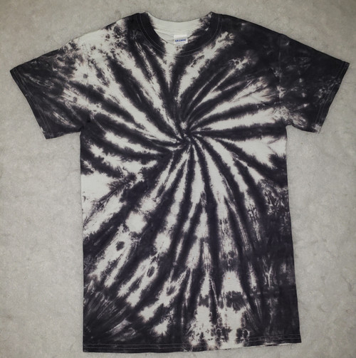 (NEW]  Black and White Tie Dye  (short and long sleeve options)