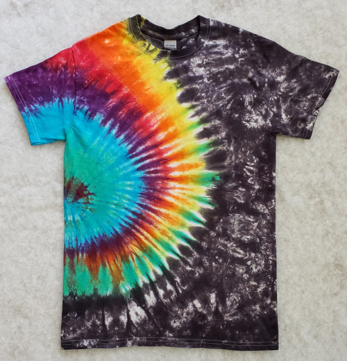 Rainbow Rush Tie Dye    (short and long sleeve options)