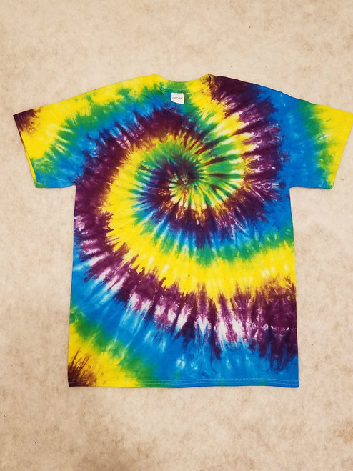 Cool Wave Tie Dye (short and long sleeve options)