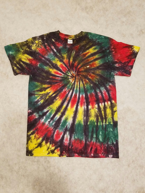 Rasta Tie Dye (short and long sleeve options)