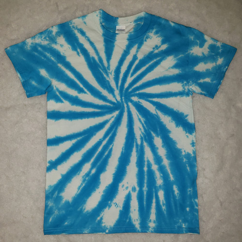(NEW)  Blue and White Tie Dye  (short and long sleeve options )