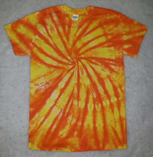 (NEW) Sunny Swirl Tie Dye  (short and long sleeve options)
