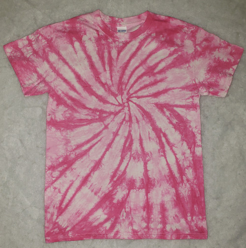 (NEW) Pinky Pink Tie Dye  (short and long sleeve options)