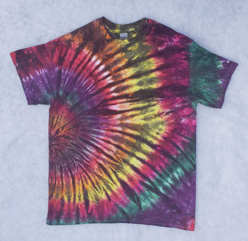 Hurricane Tie Dye (Short & Long sleeve options)