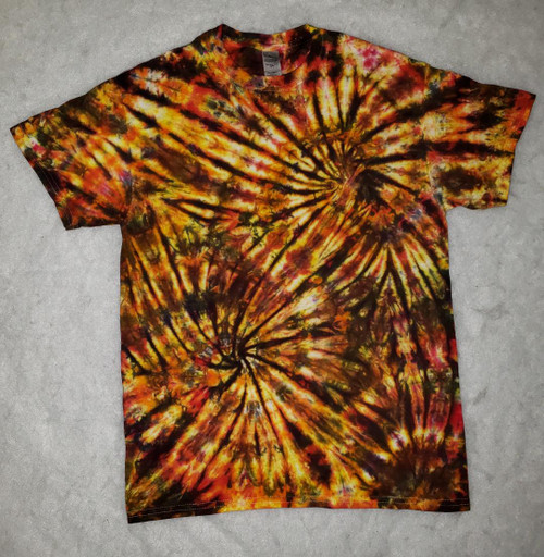 (NEW)  Flame Tie Dye (short & long sleeve options)